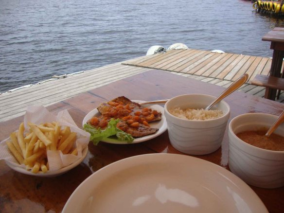 Comida na Costa da Lagoa