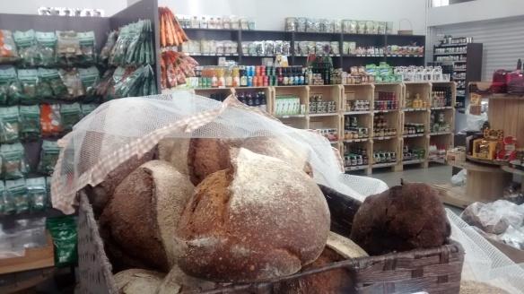 Pão integral na Horta da Nonna, em Caxias do Sul