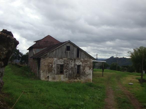 Casa centenária na Vinícola Vistamontes.