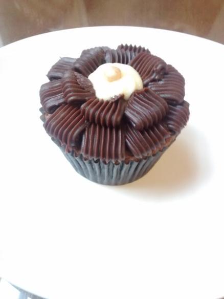 Cupcake do café Dolce Vita