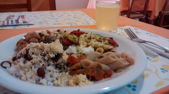 restaurante vegetariano e vegano