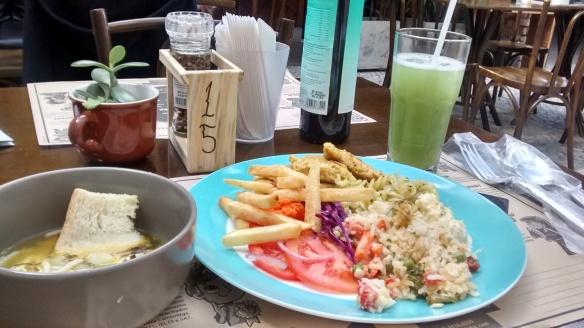 Almoço na Zero 54