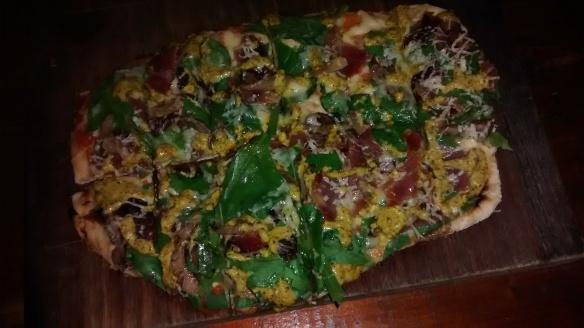 Pizza de copa