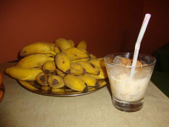 caipirinha de banana com cachaça casa bucco