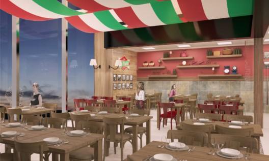 Imagem: reprodução do projeto, Casa DiPaolo