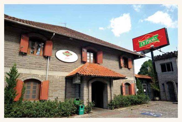 Restaurante fica junto ao Castelo Benvenutti. Foto: Casa DiPaolo, divulgação
