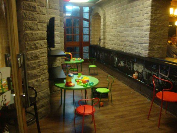 Espaço kids da Casa DiPaolo de Garibaldi também foi reformado. Foto: Kelly Pelisser