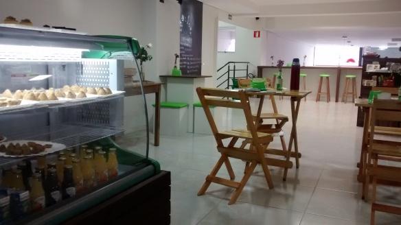 Fitlife tem loja e café no bairro São Pelegrino. Foto: Kelly Pelisser
